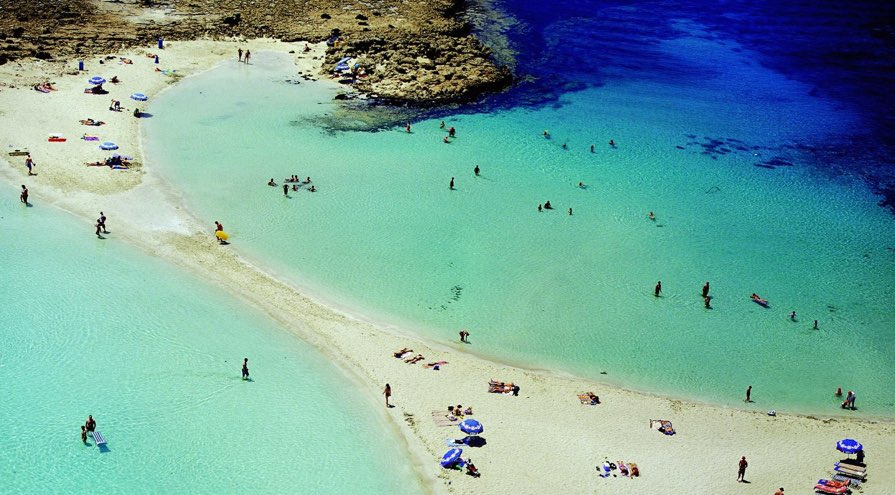 NIssi beach in Ayia Napa best beaches