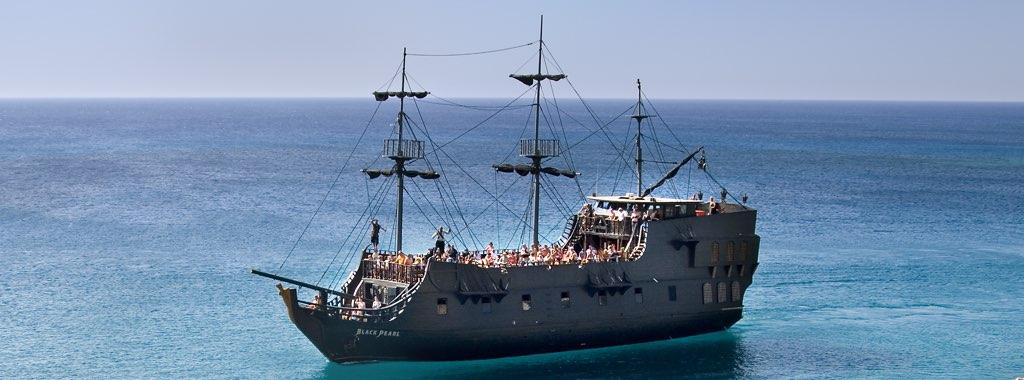 Black Pearl Pirate Ship from Ayia Napa