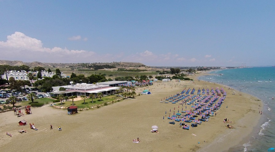 CTO Beach in Larnaca