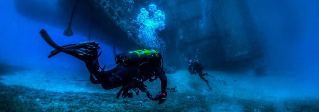 Private Diving at Zenobia Wreck in Larnaca