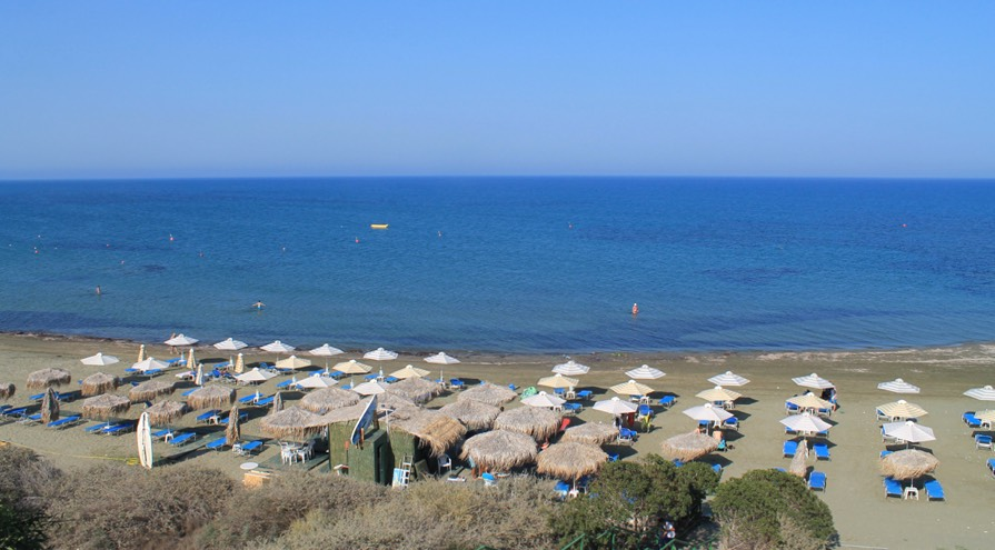 Faros Beach in Larnaca