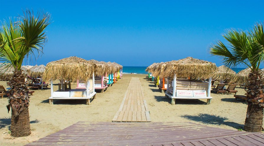 Kastella Beach in Larnaca Best Beaches