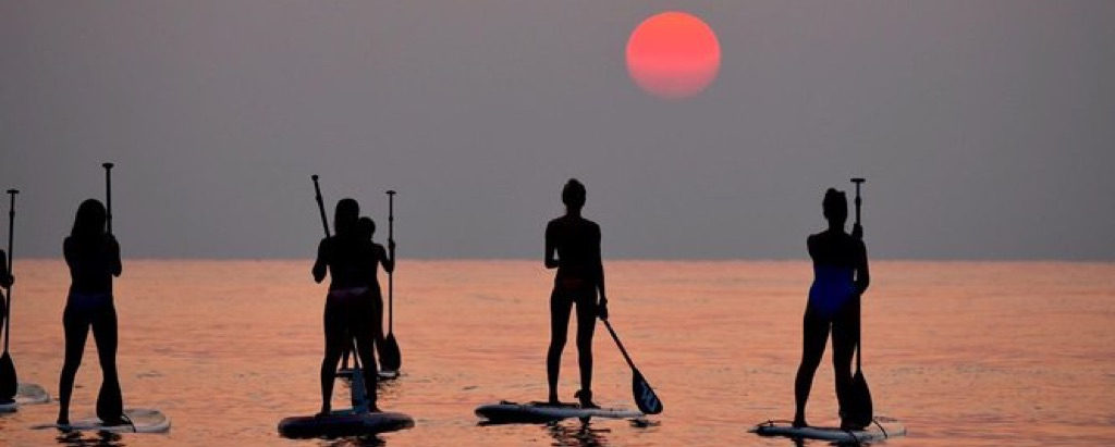 Stand Up Paddle Lesson in Larnaca