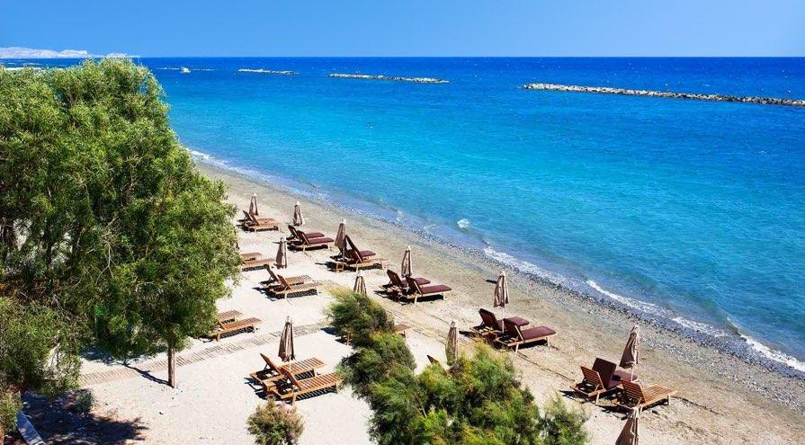 Akti Olympion Beach in Limassol
