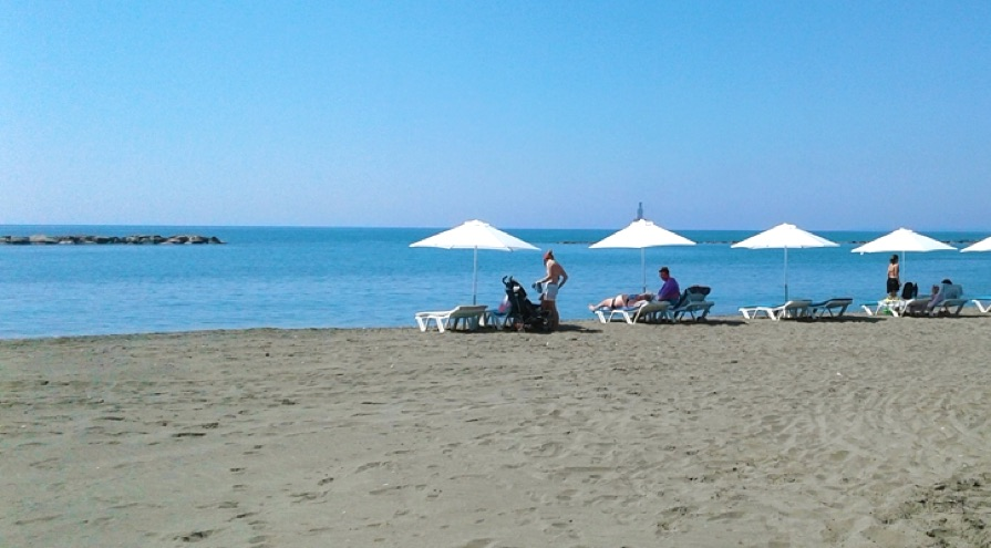 Armonia Beach in Limassol