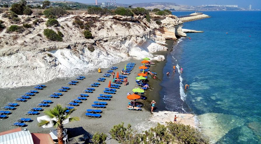 Governor's Beach in Limassol Best Beaches