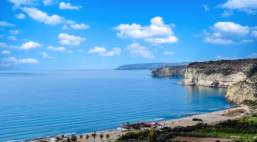 Kourion Beach in Limassol Best Beaches