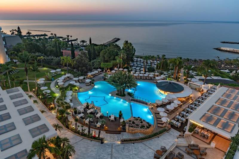 Mediterranean Beach Hotel in Limassol in Cyprus Travel Guide