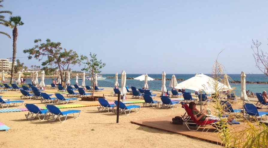 Alykes Beach in Paphos Travel Guide