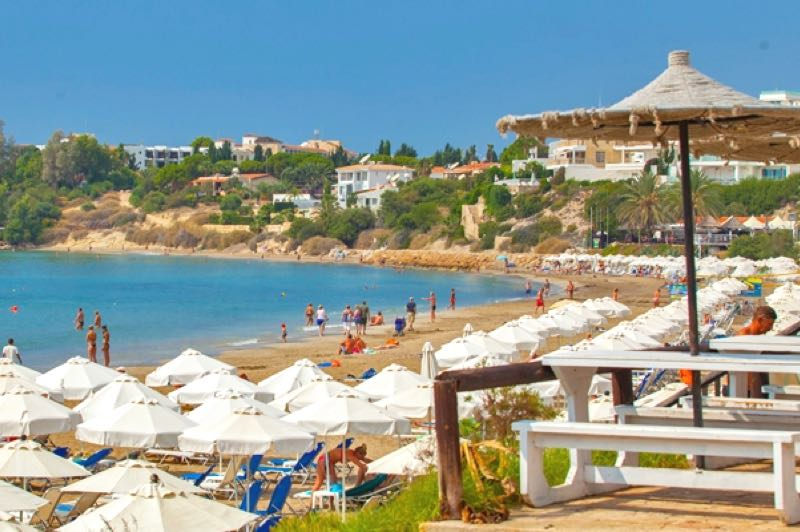 Coral Bay Beach in Paphos Travel Guide