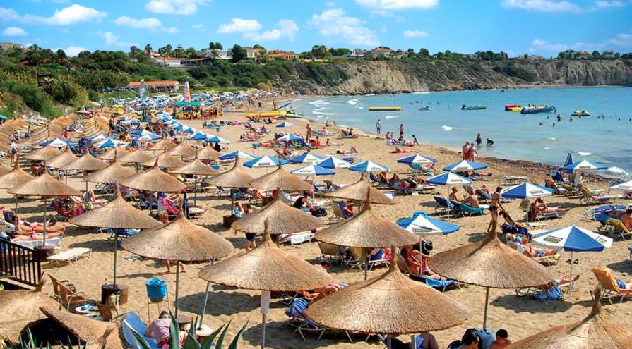 Coral Bay Beach in Paphos Best Beaches