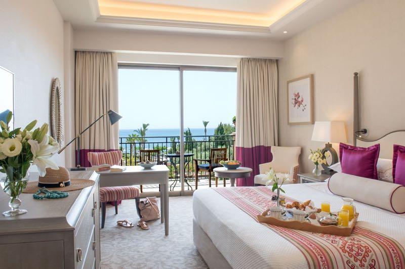 Elysium Hotel room in Paphos Travel Guide
