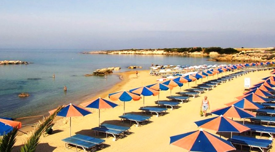 Laourou Beach in Paphos Best Beaches
