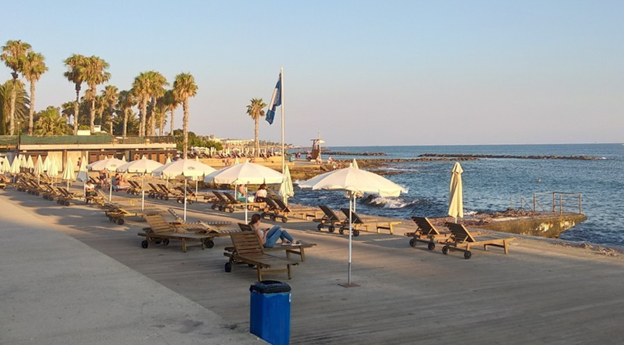 Municipal Baths Beach in Paphos Best Beaches