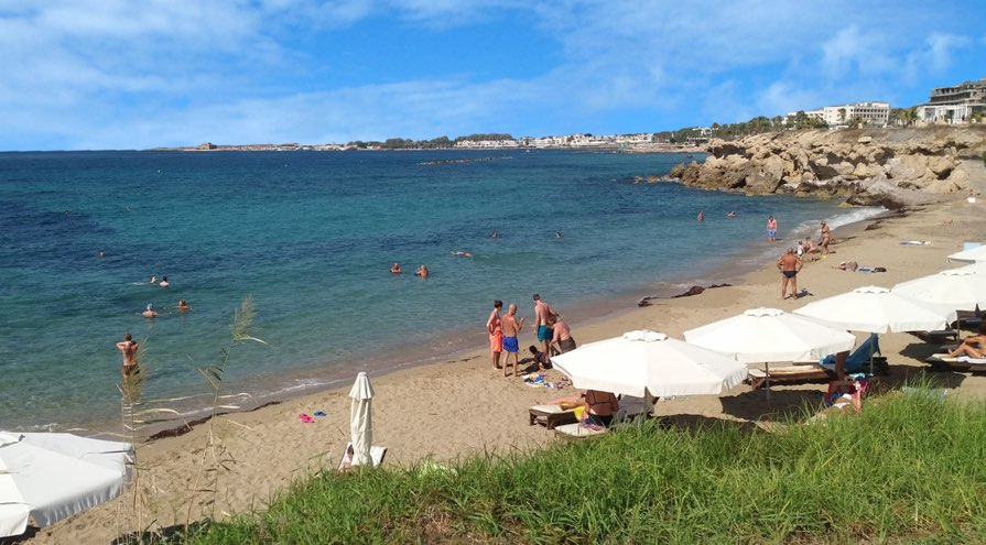 Pachyammos Beach in Paphos