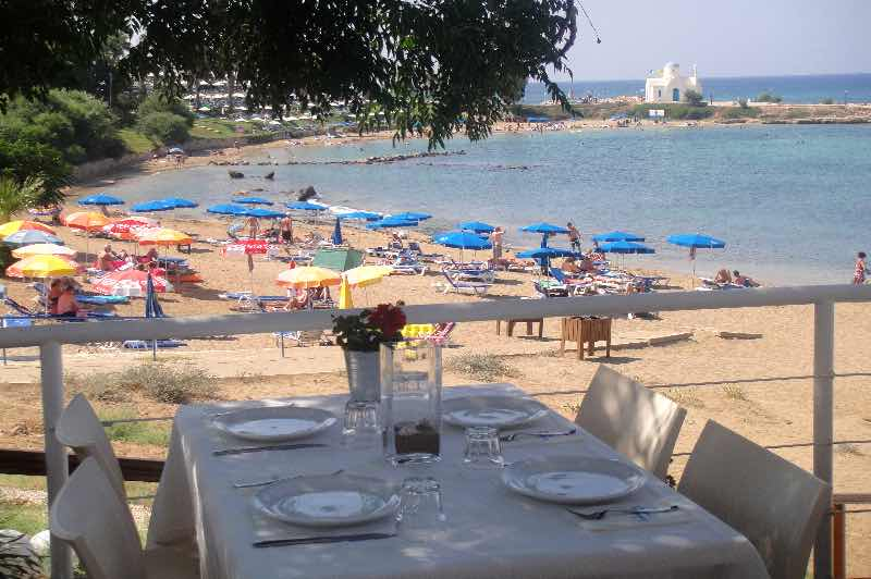 Kalamies Restaurant in Protaras Travel Guide