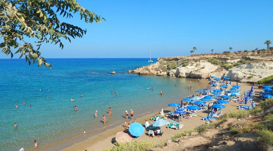 Kapparis Beach in Protaras