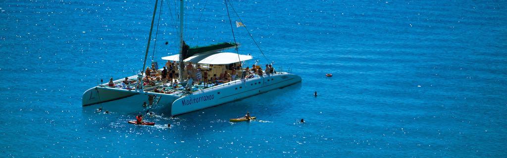 Mediterraneo Catamaran Sunset Cruise from Protaras