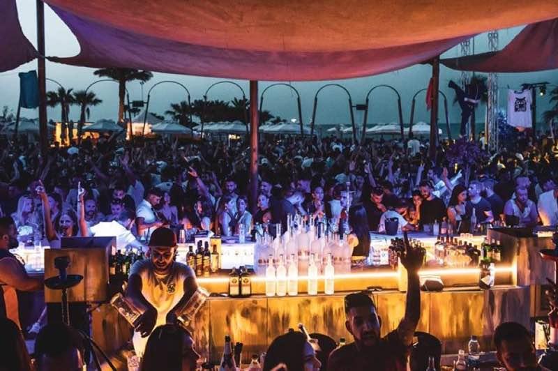 Nava Beach Bar in Protaras